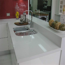Cyprus cut to size ice white kitchen top acrylic solid surface counter tops