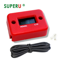 Digital hour meter for gasoline engine motorcycle ATV UTV Snow motorcycle