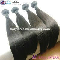 high quality 100 percent raw virgin unprocessed brazilian human hair noble hair natural straight huaman hair made in