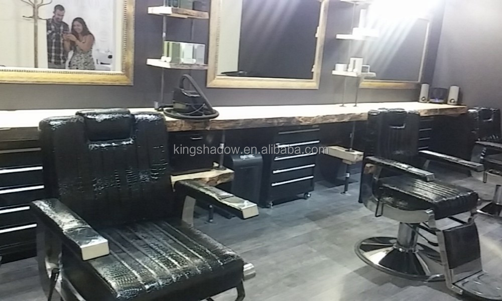 Luxury style salon furniture styling chair european barber for Luxury beauty salon furniture