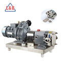Steel Stepless Frequency Control Lobe pump for Orange jam and marmalade