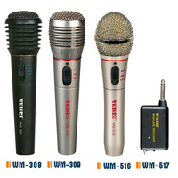 Cheap Price FM Receiver Wireless Microphone