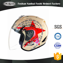 New model DOT German style desgin open face helmets for women motorbike helmet
