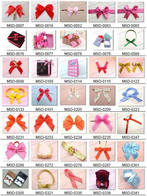 2015 artificial ribbon flower for wall decoration