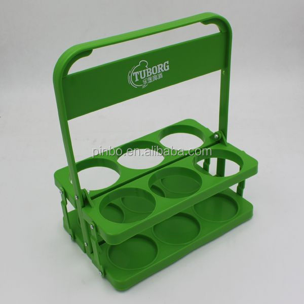 6 Pack Plastic Bottle Holder For 6 Bottles