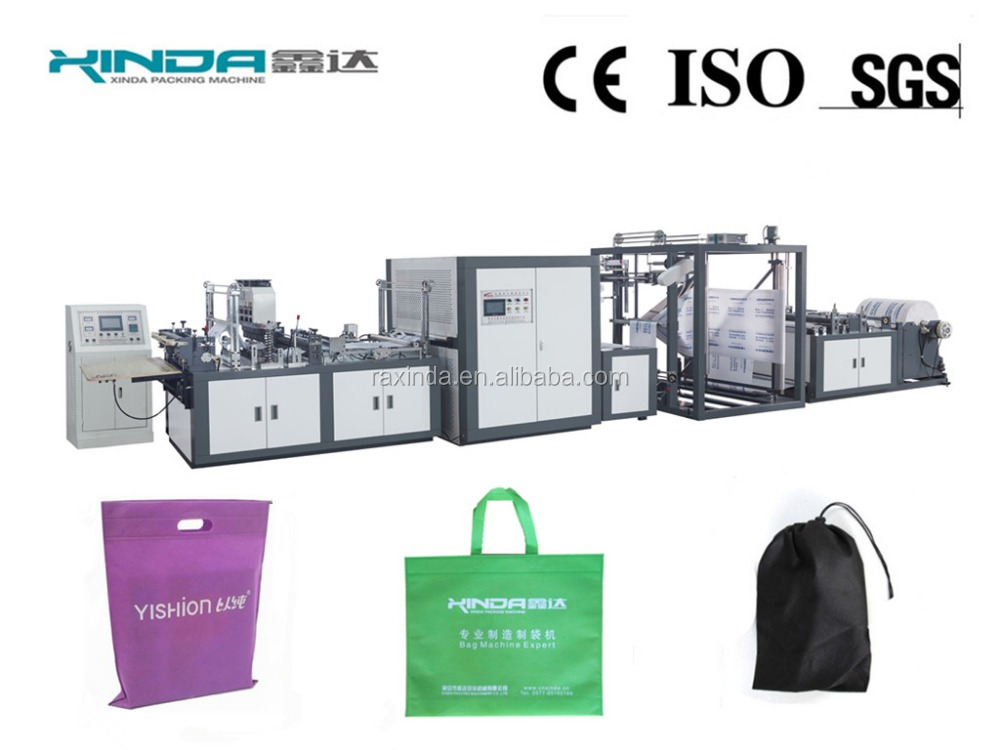 automatic non-woven shopping bag making machine WFB-DT600