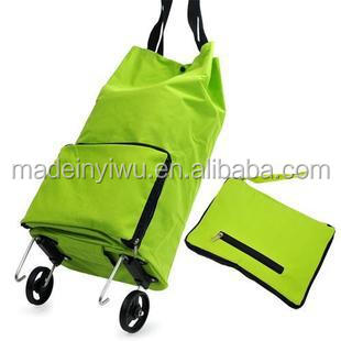 foldable shopping trolley cart