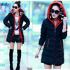 Women Hooded Winter Warm Jacket Down Coat Jackets Plus Size Thickening