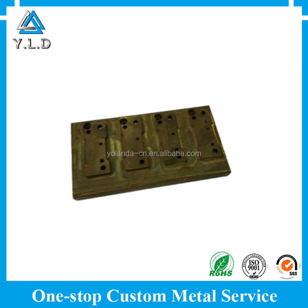 Up-to-Date Equipment Bronze Customized CNC Milling Vehicle Parts At Reasonable Price