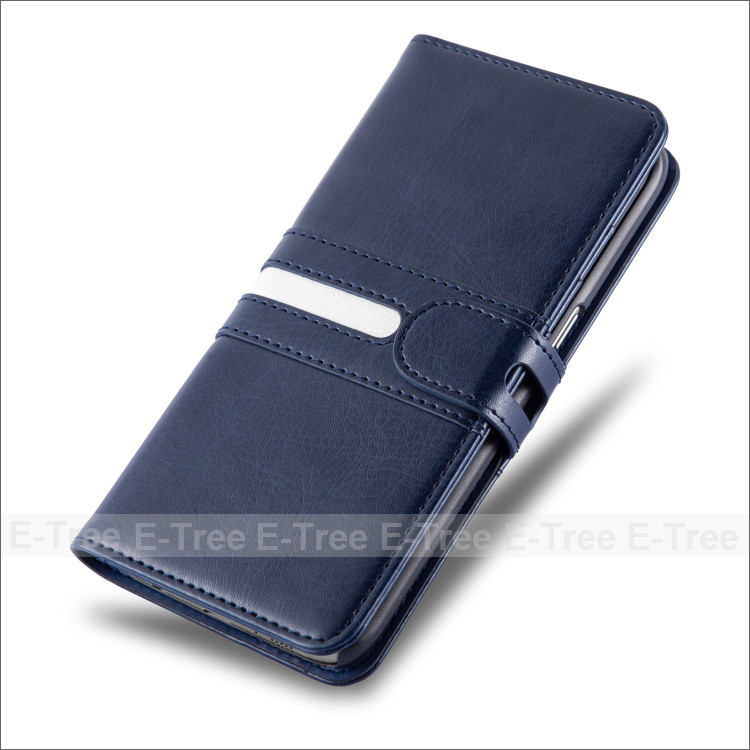 Premium Leather Wallet Cell Phone Case Cover for Samsung Galaxy S7 Edge