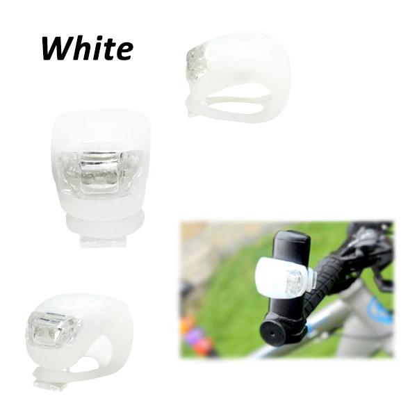 RBL-09 2016 Hot sale durable silicon bike rear light 2 led and 3 Flash modes