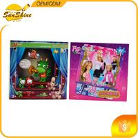 Game Set Puzzle,jigsaw puzzle,Cheapest 48 pcs 3D Puzzle Games