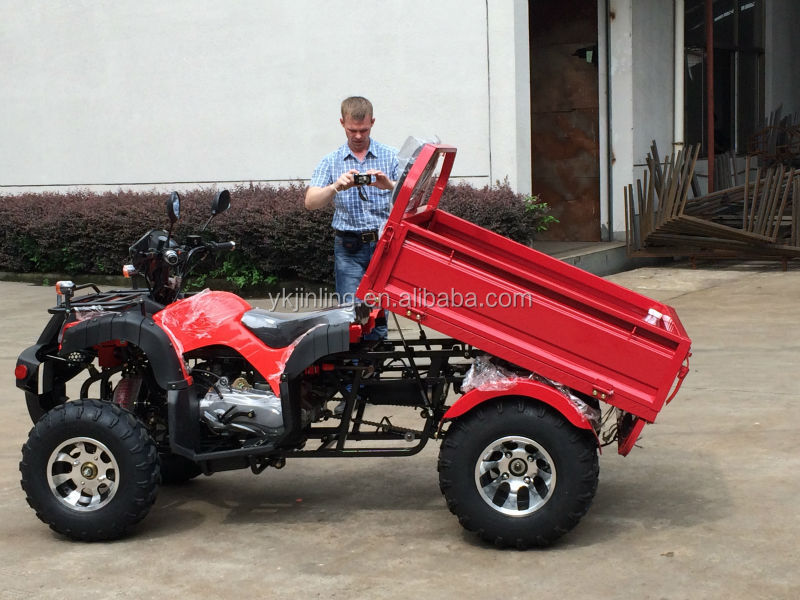 2016 new 200cc GY6 new ,cheap atv for sale FAMER tractor,tipping quad