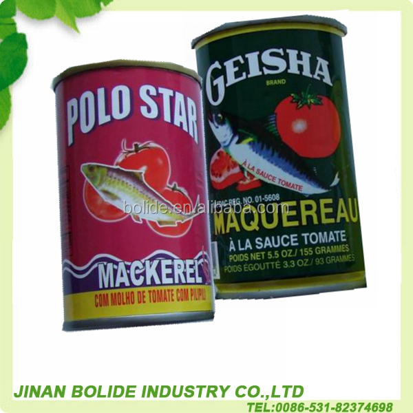 155g high quality canned mackerel fish in tomato paste
