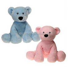 Super Soft Material Plush Stuffed Toy Pink and blue Bears