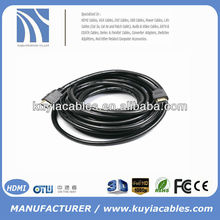 10m HDMI 1.3b Certified Cable 24k Gold HDTV 1080p 10m