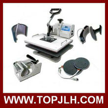 Heat Press machine--combo 6 in 1