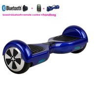 Bluetooth colorful remote control bluetooth 2 wheel hoverboard Self Balancing electric Scooter
