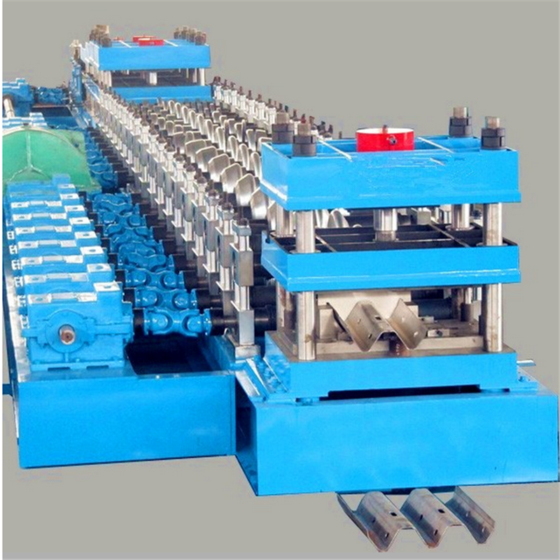 Omega Post roll forming machine for guard rail