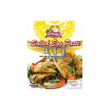 Malaysian Multiple Flavors Instant Sauce Salted Egg Paste