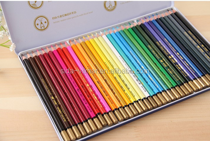 Professional 36 pc Color Pencil in colour pencil set for Artist