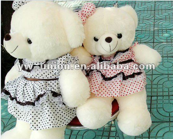 Stuffy Female Skirt Teddy Bear Soft Valentine's Toy
