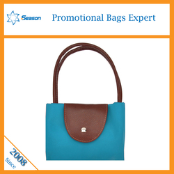 Fashion handbag lady bags handbag women tote foldable shopping bag hong kong