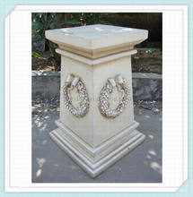 outdoor decorative stone gate pillars