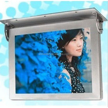 15 Inch LCD TFT Bus digital Advertising Monitor video media player
