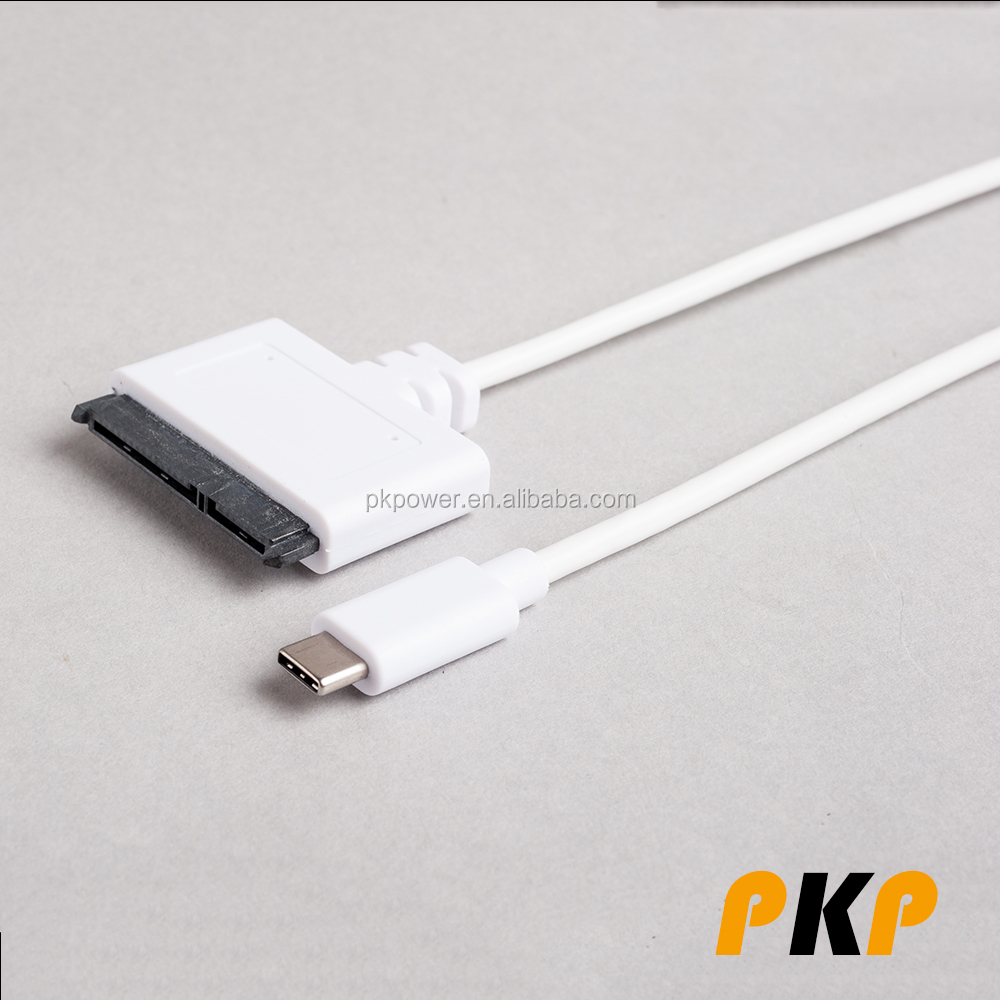 USB 3.1 Type C to SATA 3.0 Hard Drive Adapter Cable