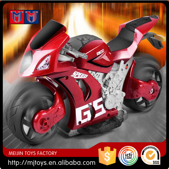 Meijin Hot Series 1:8 RC Motorcycle for kids 4D RC Simulation Motorcycle for sale