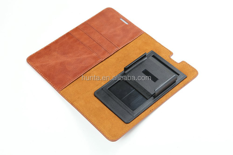 genuine leather phone case for samsung galaxy 7 universal flexible holder unclocked