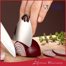 China manufacturer amazon metal steel chefs kitchen cooking knife cutting and slice finger guard protector for chopping