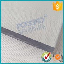 clear polycarbonate 5mm solid sheet,solid pc panel,prism polycarbon