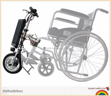 36v electric handbike attached to wheelchair for rehabilitation therapy/250w electric-assistance handcycle