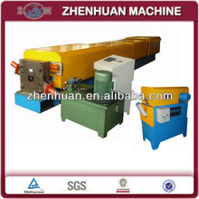 Automatic rectangular downspout pipe roll forming machine