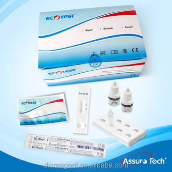 One Step Strep B diagnostic Test Kit