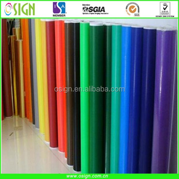 super quality plotter vinyl /color film /vinyl sticker Cutting roll