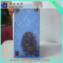 haojing 8mm reed patterned glass
