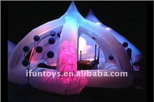 2012 IFUN Latest design temporary inflatable tent/booth
