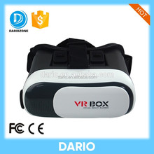 2016 Hot Sale 3D Glasses Virtual Reality VR box With remote