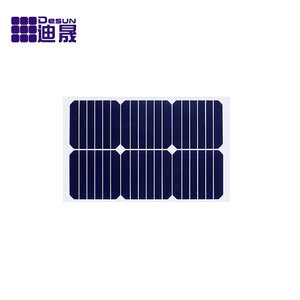 Sun power high efficiency solar panel, flexible thin film solar panel 20W 30W