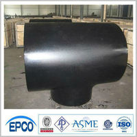 anti-rust oil a860wphy x60 x70 butt welded steel pipe fitting tee