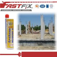fastener mortar glue double mixing adhesive concrete crack repair products
