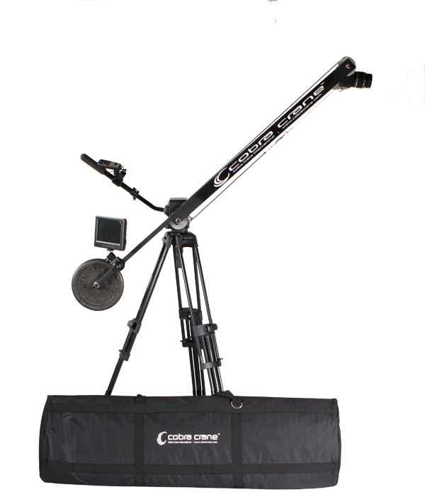 5 / 8 foot portable camera jib crane for DSLR and camcorders