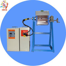 auto pouring induction gold melting machine
