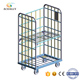 Goods trolleys logistics storage nesting roll containers insulated steel portable roll containers