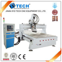 Factory supply automatic 8 tools atc cnc router with 9kw Italy spindle yaskawa servo motor woodworking machine