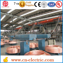 China factory copper rod continuous casting machine from factory price
