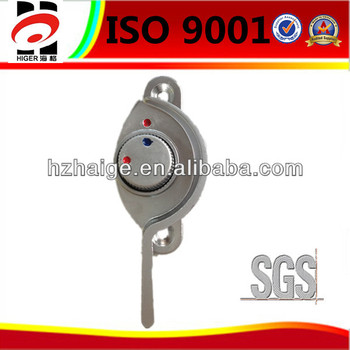custom made chrome plated zinc die casting window handle